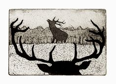 The Rivals by timsouthallart on Etsy, £145.00