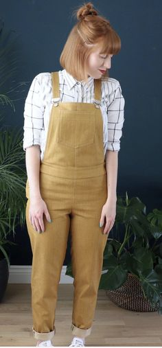 Jen's Mila Dungarees - Sewing pattern by Tilly and the Buttons