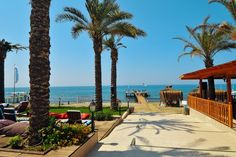 The Private Beach at the Marbella Club Hotel Marbella Costa Del Sol Spain
