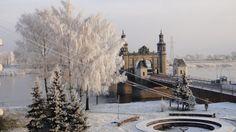 Татьянин день: Красивая зима.Мост королевы Луизы.