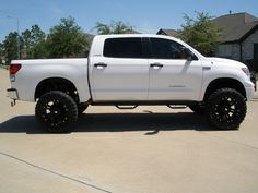 "lifted 4x4 | 2007 Toyota Tundra CrewMax Limited Pickup 4D 5 1/2 ft ""Bert's Tundra ..."