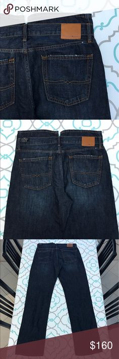 """NWT💙👖Men's Lucky 🍀 Brand Jeans👖💙34x34 NEW!!!! NEW! 💙👖Men's Lucky 🍀 Brand Jeans👖💙 Size 34x34. 35.5"""" Inseam. So a little longer than the Tag size. 11.5"""" Rise. 17.75"""" Across Back. Slight Stretch. Lightweight Denim. Great for warm weather! 363 Vintage Straight. New With Tags! Beautiful Dark Blue Wash. No Fading. Light Distressing on pocket tops. Contrasting Stitching. AWESOME! Luckies! Ask me any questions! : ) Lucky Brand Jeans Straight"""