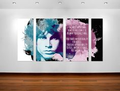 Jim Morrison quote poster art #posterart