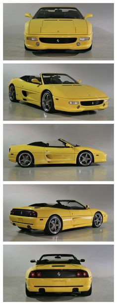Blast from the past with this Ferrari 355 Spider. 90's cool! #ThrowbackThursday