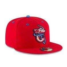9556e41fe MILB Jumbo Shrimp Away Game Flat Bill Hat. New Era ...