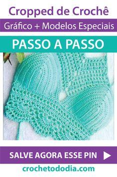 Crochet Bikini Pattern, Crochet Crop Top, Knit Crochet, Crochet Hats, Diy Clothes Videos, Crochet Clothes, Needlepoint, Crop Tops, Stitch