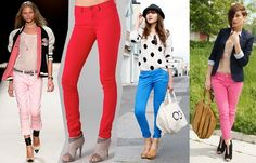 Colorful Collection Of Denim Jeans For Women 2013