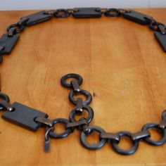 Vintage YSL Link Chain Necklace