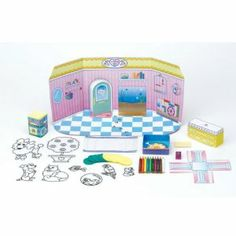 Creativity for Kids Shrinky Dinks Pet Shop by Creativity For Kids. $16.27. Includes Faber-Castell colored pencils and sharpener. Includes aquarium, grooming table, puppy pen, posing stand and a kitty climber. 40+ pre-cut Shrinky Dinks. From the Manufacturer                Decorate this adorable pet shop play-scape with your favorite Shrinky Dinks pets and accessories. This kit features 40+ pre-cut Shrinky Dinks Faber-Castell colored pencils, sharpener, aquarium, ...