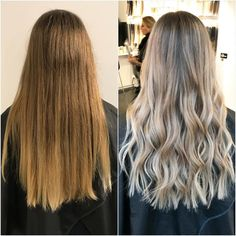 Going, going blonde!  Styled by Emelie S @rapunzel.stockholm #rapunzelofsweden
