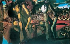 Dali Metamorphosis Of Narcissus Poster