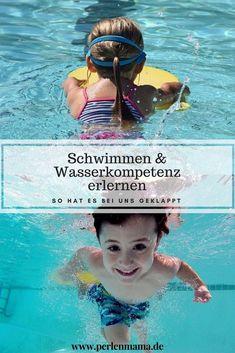 Schwimmen & Wasserkompetenz erlernen - So hat es bei uns geklappt – Perlenmama Primary Education, Primary School, Au Pair, School Sports, Summertime, Kids Fashion, Parenting, Children, Movie Posters