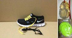 Nike Free Run 2 Black And Yellow
