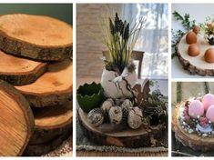 Zapomeňte na klasický věnec a umělé dekorace: Stačí postavit na stůl tuhle dekoraci a máte vyřešeno na celé jaro! Projects To Try, Table Decorations, Plants, Furniture, Home Decor, Style, Baby Dolls, Other, Craft