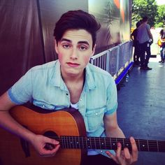 Playing for people today! No biggie😁 Im In Love, Love Him, Liam Attridge, Cute Teenage Boys, Pop Bands, Hot Guys, Fangirl, Celebs, Songs