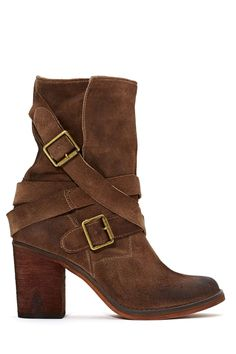 Jeffrey Campbell France Strapped Boot