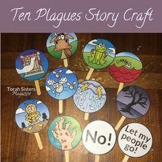 Ten Plagues Passover Craft to Keep Kids Engaged - Torah Sisters