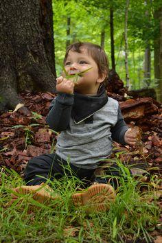 New punky bandana bib available at KTJBaby.etsy.com and KTJBaby.com <3 I am so ready for fall!