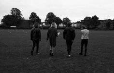 BBG Presents: Sundara Karma photographed by Sophie Mayanne. Styling by Dasha Kova. See the full interview and series here. Left to Right: Ally wears Shirt by BEN SHERMAN, Leather Jacket by MINT VINTAGE ARCHIVE, Boots by DR. MARTENS, Jeans Model's own, Dom  wears Shirt GIVENCHY at MRPORTER.COM, Leather Jacket by MARC BY MARC  JACOBS at MRPORTER.COM, Jeans Model's own, Belt LEVI'S, Shoes by DR.  MARTENS, Oscar wears Roll Neck and Coat by KENZO, Jeans by SANDRO PARIS, Belt by ...
