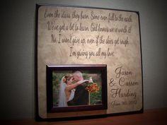 Wedding Song Lyrics Frame, FIRST DANCE, Anniversary, Vows, I Won't Give Up by Jason Mraz on Etsy, $70.00