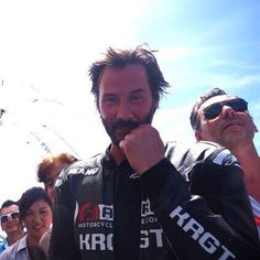 +++ Respond to every call that excites your spirit. Rumi +++ (chicfoo) keanu