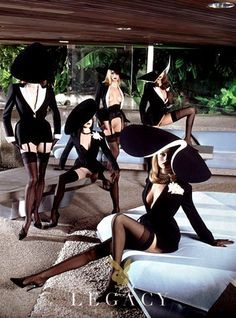 "Sex Couture"" shot and styled by Thierry Mugler for Playboy 1999, part of Playboy's Legacy image collection."