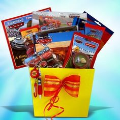Gift Baskets for Boys Disney Pixar All Occasion Great Get Well Gift or Birthday Gifts for Kids Under 10 by gift basket 4 kids, http://www.amazon.com/dp/B002M0885K/ref=cm_sw_r_pi_dp_KFKnrb1XA3JDS