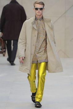 BurberryProrsum –Menswear Spring/Summer 2013– Milan Fashion Week