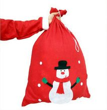 1 PCS New Christmas Santas Candy Gift Bag High Quality Home Table Decor(China (Mainland))
