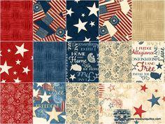 Colors of Freedom 10 Karat Crystals - Jennifer Pugh - Wilmington Prints — Missouri Star Quilt Co.