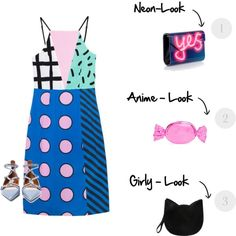 Designer Clothes, Shoes & Bags for Women Personal Branding, Jimmy Choo, Valentino, Forever 21, Kate Spade, Outfit Ideas, Girly, Neon, Shoe Bag