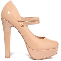 Double Strap Heels