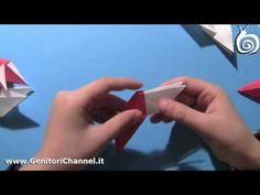 Origami: stella di Natale o stella ninja - YouTube