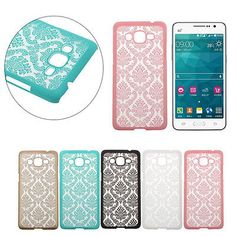 Damask Hard Case Cover For Samsung Galaxy Grand Prime G530H G5308 Hoc