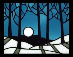 winter stained glass patterns - Google Search