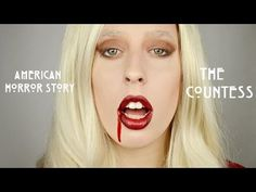American Horror Story: Hotel - THE COUNTESS Lady Gaga Makeup Tutorial - YouTube