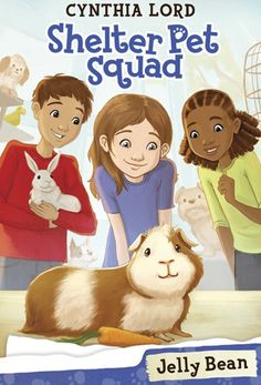 Shelter Pet Squad is a new easy-to-read series (Level M/N) by Cynthia Lord that is perfect for 2nd and 3rd grade readers.   We can't wait to read this text aloud before an opinion unit of study.  These characters volunteer at an animal shelter and are determined to find a guinea pig named Jelly Bean a new home.   In order to solve this problem, Suzannah and her friends write persuasive letters to teachers to find Jelly Bean a home in a classroom.