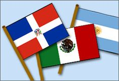 Free Flags of Latin America Coloring Pages & Printables.