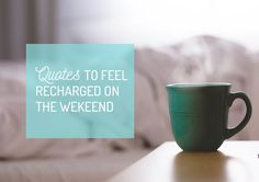 Let's recharge yourself this weekend :D #lifestyleblogger #positivelife #relax #weekend #recharge #quotes #quote #wordsofwisdom