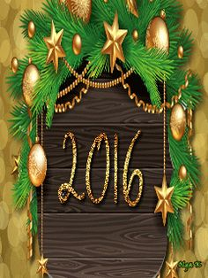 Happy New Year 2016 - Latest SMS/greetings/Whatsapp Video/Best Wishes/E-card/Quotes/HD Video 24 Christmas Tree With Gifts, Christmas Night, Merry Christmas And Happy New Year, Christmas Ornaments, Christmas 2016, Christmas Greetings, New Year Gif, Happy New Year 2014, Year 2016
