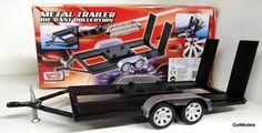 1/18 diecast dioramas | Details about MOTORMAX 1/18 SCALE -76009 CAR TRAILER DIORAMA RALLY ETC ...
