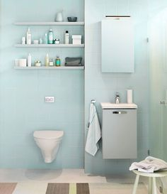 badrumsinspiration litet badrum - Sök på Google
