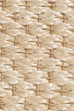 Sand handwoven abaca rug, by Merida.