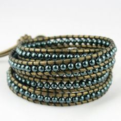 loving these leather wrap bracelets