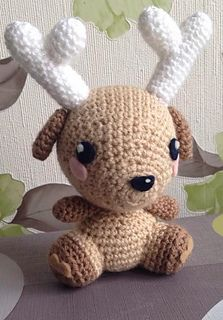 Deer Stuffed Animal Amigurumi Crochet Pattern