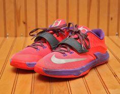 32a4c168d09f Nike KD VII 7 Size 3Y - Hyper Punch Grape Silver - 669944 601  Nike