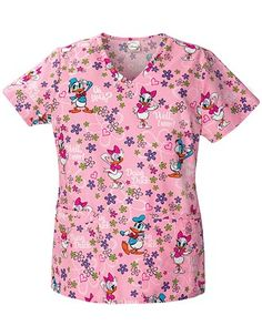 Find Disney Scrubs from Mickey scrub tops to Sleeping Beauty, along with Tinker Bell and Fairy tops. With over 60 different Disney scrubs tops to choose from you are sure to find what you are looking for. Disney Scrub Tops, Disney Scrubs, Pediatric Scrubs, Pediatric Nursing, Medical Scrubs, Nursing Scrubs, Nursing Clothes, Best Work Pants, Cherokee Scrubs