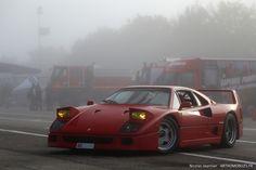 Foggy Ferrari F40