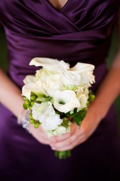 Inspiration Wednesday: Purple Wedding Ideas
