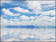 世界遺産 ウユニ塩湖 (ボリビア)